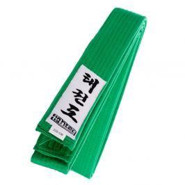 Fighter Taekwondo ITF pásek - zelená zelená 180