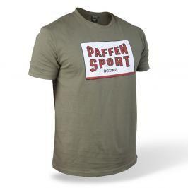 Paffen Sport triko Logo Frame olivově zelená S