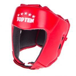 Přilba Top Ten AIBA - červená červená S