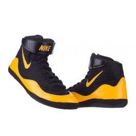 Boty Nike Inflict Wrestling - černá/oranžová černá 9