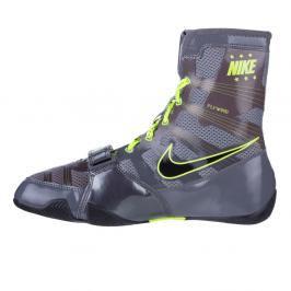 Box boty Nike HyperKO - šedá/neon.zelená šedá 7