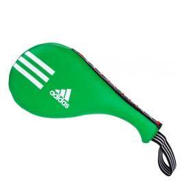 Lapa adidas Double Dětská - černá/zelená černá