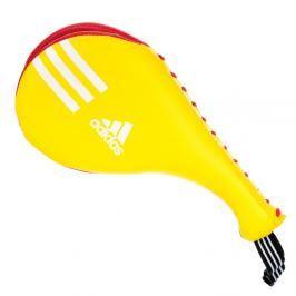 Lapa adidas Double Dětská - žlutá/červená žlutá
