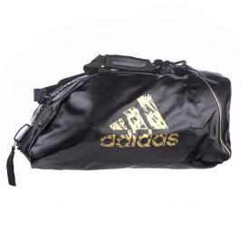 Sportovní taška adidas training 2in1 - černá/zlatá černá M
