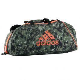 Sportovní taška adidas Combat Camo 2in1 maskáč M
