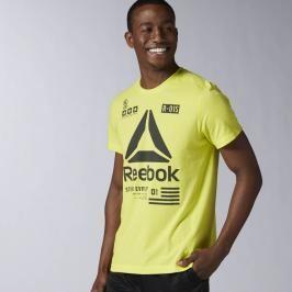 Reebok OS Delta triko - žlutá žlutá XL