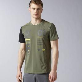 Reebok ONE Series ACTIVChill Breeze triko zelená M
