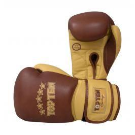 Boxerské rukavice Top Ten Heritage hnědá 10