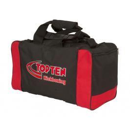 Sportovní taška TOP TEN Kickboxing - černá/červená černá
