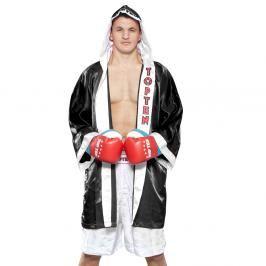 Boxerský plášť Top Ten - černá černá S/M