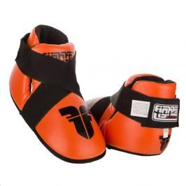Chrániče nohou Fighter - oranžová oranžová M/L