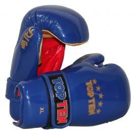 Otevřené rukavice TOP TEN ITF - modrá modrá M/L