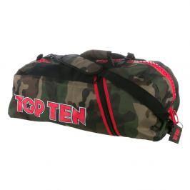 Sportovní taška Top Ten - maskáč maskáč M