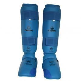 Chrániče holení a nártů Hayashi WKF - modrá modrá M