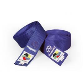 Saténový pásek Hayashi - modrá modrá 260