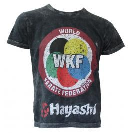 Triko Hayashi WKF šedá M