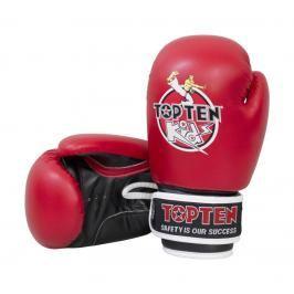 Dětské boxerské rukavice Top Ten Kids - červená/černá červená 8