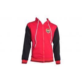 Mikina s kapucí Top Ten Coat of Arms - červená/černá červená XS