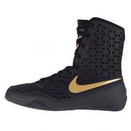 Boxerské boty Nike KO - černá/zlatá černá 6