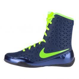 Boxerské boty Nike KO - modrá/neon. zelená modrá 5