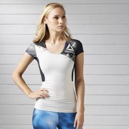 Reebok Activchill kompresní dámské triko bílá L