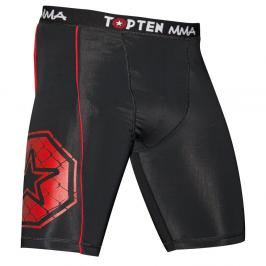 Top Ten MMA kompresní šortky - černá černá S