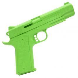Gumová pistole Cold Steel 1911 zelená