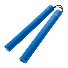 Nunchaku Century pěnové s provázkem - modrá modrá