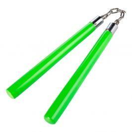 Nunchaku Century neonové s řetězem - neon. zelená neon. zelená