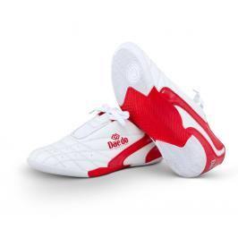 Budo Boty Daedo KICK - bílá/červená bílá 38