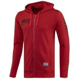 Reebok UFC Ultimate Fan making na zip - červená červená M