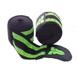 Bandáže Fighter - černá/zelená černá 2,5