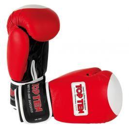 Boxerské rukavice TOP TEN Olympia - červená červená 10