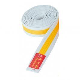 Pásek Hayashi - bílá/žlutá bílá 260