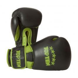 Boxerské rukavice Top Ten Elite Dual 16oz černá