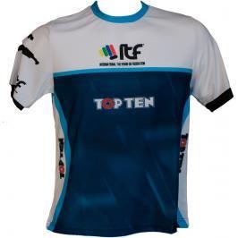 Triko TOP TEN ITF modrá S