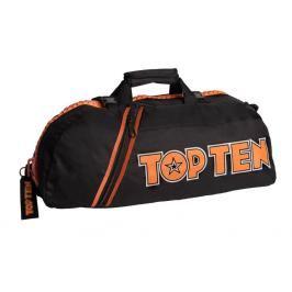 Sportovní taška Top Ten - černá/oranžová černá M