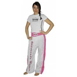 Saténové kalhoty TOP TEN Girl bílá S