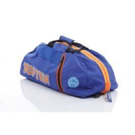 Sportovní taška Top Ten WAKO - modrá/oranžová modrá M