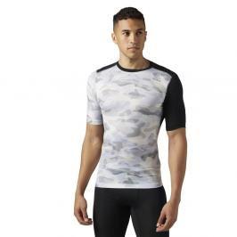 Reebok Activchill kompresní triko camo print maskáč S