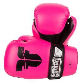 Otevřené chrániče Fighter - neon. růžová neon. růžová XS