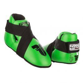 Chrániče nohou Fighter - neon. zelená neon. zelená XS