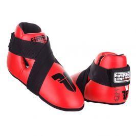 Chrániče nohou Fighter - červená červená M