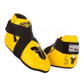 Chrániče nohou Fighter - žlutá žlutá XS