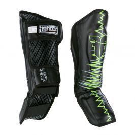 Chrániče holení Fighter Heartbeat - černá/zelená černá XS