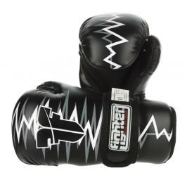 Otevřené chrániče Fighter Heartbeat - černá/bílá černá XS