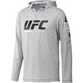 Reebok UFC Ultimate Fan mikina - šedá šedá XL