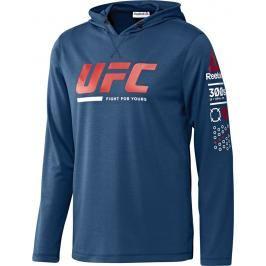Reebok UFC Ultimate Fan mikina - modrá modrá XL