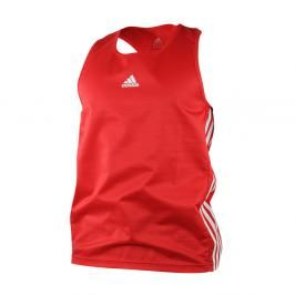 adidas box tílko - červená červená XL