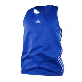 adidas box tílko - modrá modrá XXL